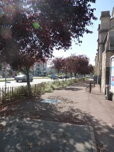 Vue avenue de Verdun